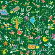Link toHand drawn school elements vector 02