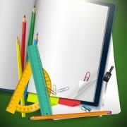 Link toSchool supplies elements background vector 02