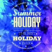 Link toSummer holidays with abstract background vector 04