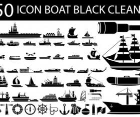Transportation Icons vector set 03