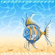 Link toBeautiful underwater world vector 01
