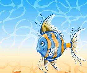 Beautiful Underwater World vector 01
