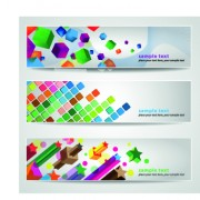 Link toClassic banner design vector 01
