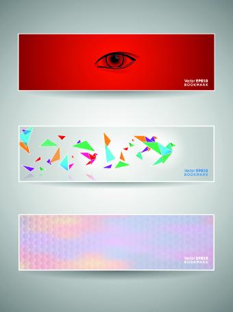 Classic banner design vector 03