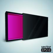 Link toBox design vector 02