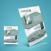 Link toStylish business flyer template design 03