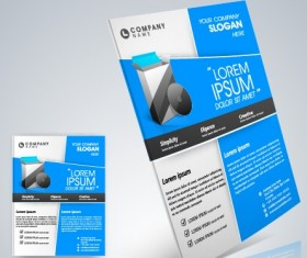 Stylish business flyer template design 05