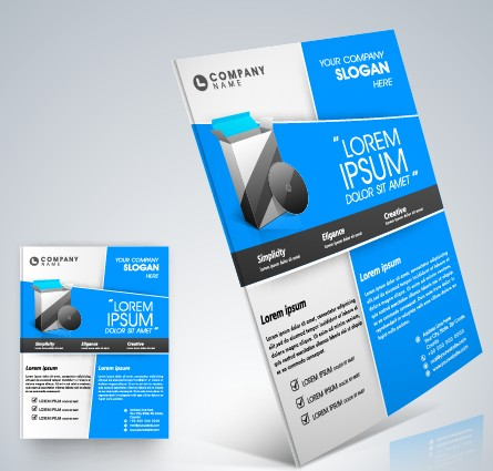 Stylish Business Flyer Template Design 05 Free Download