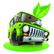 Link toFunny car with travel elements vector 05