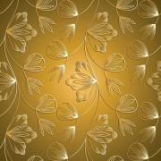 Link toLuxurious floral pattern vector set 01
