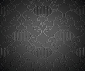 luxurious Floral pattern vector set 05