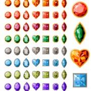Link toColorful gems design vector 02