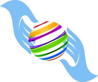 Hands logo design vector 01