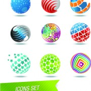 Link toColor abstract icons vector 02