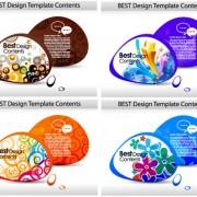Link toFashion color dialog frames vector