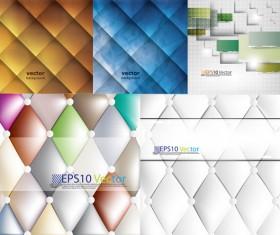 Modern grid background Vector graphic