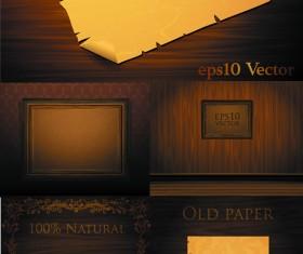 Wood kraft *** photo vector