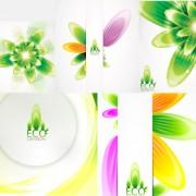 Link toColorful plant background design vector