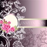 Link toOrnate wedding invitation card vector 02