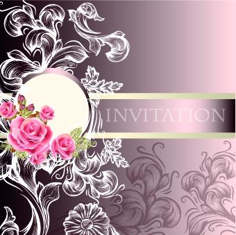 Ornate wedding invitation card vector 02 over millions vectors ornate wedding invitation card vector 02 stopboris Gallery