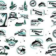 Link toBlack and white logos vector collection 01