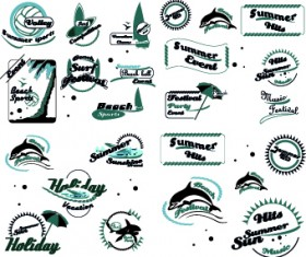 Black and White logos vector Collection 01