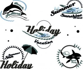 Black and White logos vector Collection 02