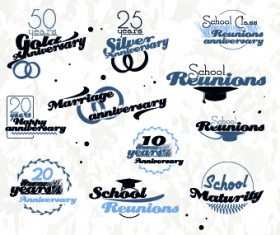 Black and White logos vector Collection 03