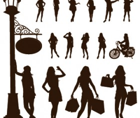 People Vector Silhouettes 05