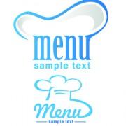 Link toRestaurant logos with menu illustration vector 05