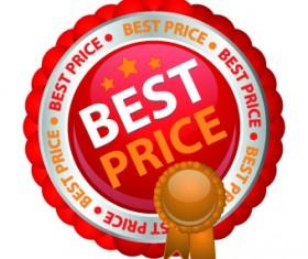 Sale sticker vector design elements 03