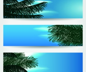 Summer Banners design vector 01