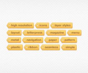 Creative Tags psd icon