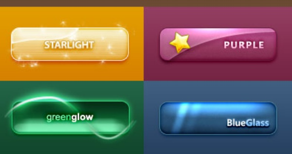 ... web button - Buttons PSD File, Web Elements PSD File free download