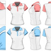 Link toClothes template design vector 06