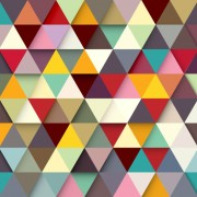 Link toColored triangle vector background