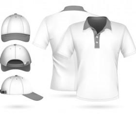 Clothes template design vector 09
