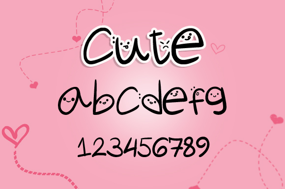 Cute Fonts Free Download