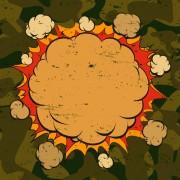 Link toCartoon explosion frames vector set 10