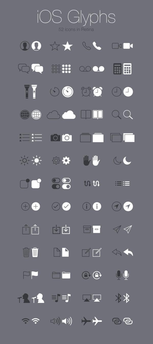 52 Kind Ios Glyphs icon