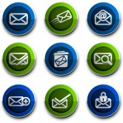 Link toEmail style icons vector 02