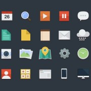 Link toVintage mobile applications icons