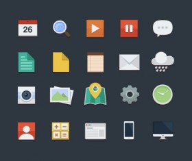 Vintage Mobile Applications icons