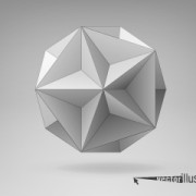 Link to3d geometrical shapes design vector 03