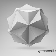Link to3d geometrical shapes design vector 04