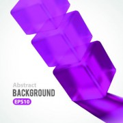 Link toShapes 3d glass background vector 04