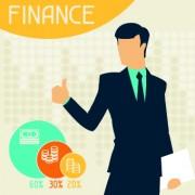 Link toVintage banking and finance design vector 04