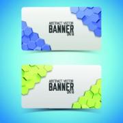 Link toBoneycomb banner vector 01