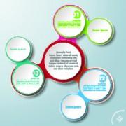 Link toBusiness infographic creative design 295