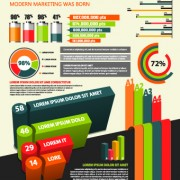Link toBusiness infographic creative design 324